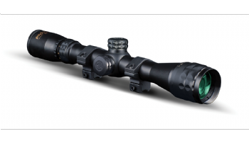 Konus Pro 3-9x32 AO PX Rifle Scope Glass Etched 30-30 Reticle + 9-11mm Mounts